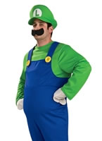 Deluxe Luigi Costume from Super Mario