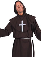 Adult Deluxe Monk Costume Brown [203226]