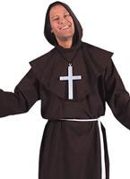 Adult Deluxe Monk Costume Brown [203226]