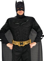 Adult Deluxe Muscle Chest Batman Costume [880671]