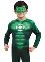 Deluxe Muscle Chest Hal Jordon Childrens Costume