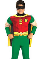 Deluxe Muscle Chest Robin Childrens Costume [882309]