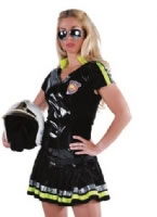 Adult Ladies Deluxe Sexy Firefighter Costume [213143]