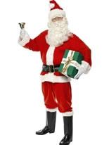 Adult Deluxe Santa Costume [34585]