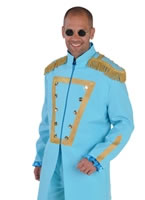 Deluxe Sergeant Pepper Blue Costume