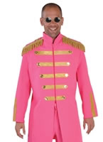 Deluxe Sergeant Pepper Pink Costume