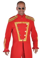 Deluxe Sergeant Pepper Red Costume