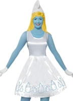 Adult Deluxe Smurfette Costume
