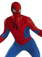 Adult Deluxe Spiderman Costume
