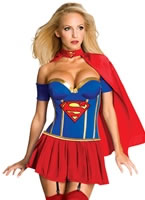 Adult Deluxe Supergirl Costume