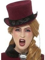 Deluxe Victorian Vampiress Hat [48309]