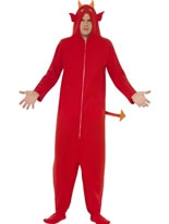 Adult Devil Onesie Costume