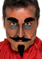 Devil Facial Hair Set