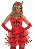 Adult Devil Tutu Costume