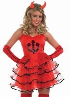 Adult Devil Tutu Costume [FS3509]
