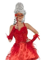 Adult Devilish Masquerade Costume [29009]