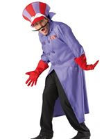 Adult Wacky Races Dick Dastardly Costume [889747]
