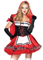 Adult Divine Miss Red Costume