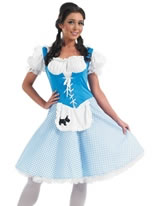 Dorothy Long Dress Costume