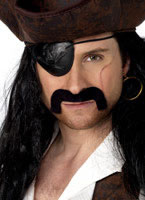 Droopy Pirate Tash Black