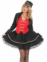 Adult Drum Majorette Costume