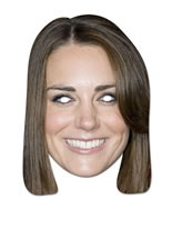 Duchess of Cambridge Card Mask [PM026]