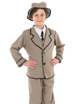 Child Edwardian Boy Costume