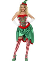 Adult Elf Burlesque Costume [26219]