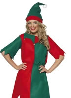 Adult Ladies Elf Costume [21474]