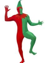 Adult Elf Second Skin Costume [20039]
