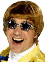 Elton John Wig & Glasses Set [42281]