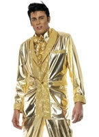Adult Elvis Costume Gold [29394]