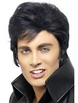 Elvis Wig Black [42116]