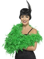 Emerald Green Deluxe Feather Boa