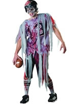 Adult End Zone Zombie Costume
