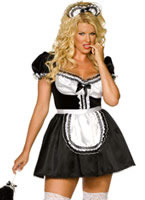 Adult Plus Size Envy Sexy French Maid Costume (FC)