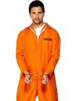 Adult Escaped Prisoner Costume [29535]
