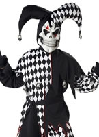 Evil Jester Childrens Costume