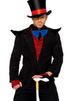 Adult Evil Mad Hatter Costume