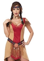 Adult Eye Candy Native Beauty Costume