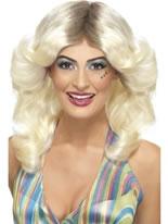 70s Blonde Flick Wig