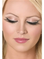 Eyelashes Silver Glitter Diva [30279]