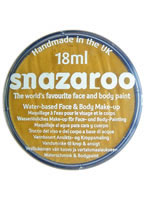 Snazaroo Metallic Gold Face & Body Paint