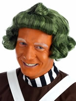 Adult Factory Worker Oompa Loompa Wig [FS2524]