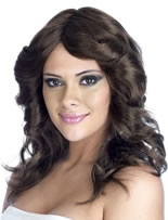 Farah Flick Brown Wig