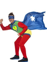 Farter Super Hero Costume [24034]