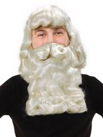 Father Xmas Wig & Beard Superior [BW018]