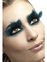 Feather Aqua Dot Eyelashes [24234]