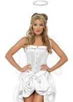 Adult Fever Angel Baby Burlesque Costume [32052]