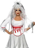 Fever Blood Drip Bride Costume [38890]